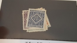 LOT 340234 TIMBRE DE COLONIE MADAGASCAR NEUF* N°31 A 40