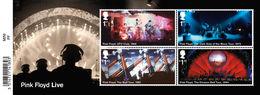 GROSSBRITANNIEN GRANDE BRETAGNE GB 2016 M/S PINK FLOYD MNH S  SG MS3855 MI BL103-3909-12 YT F4321-24 SC MS3855 - Ganze Bögen & Platten