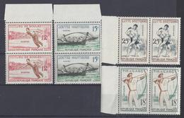 FR - 1958 - Série N° 1161 à 1164 En Paire - Neufs - XX - MNH - TB - - France