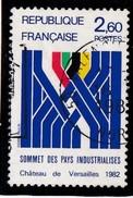 - A. 1982  - OBL. Y.T. N°2214 -  SOMMET DES PAYS INDUSTRIALISE - France