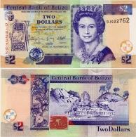 BELIZE       2 Dollars       P-66d       1.11.2011       UNC - Belize