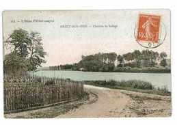 CPA 60 PRECY-SUR-OISE CHEMIN DE HALAGE - Précy-sur-Oise