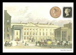GB 1983 POSTAL MUSEUM POSTCARD NATIONAL COIN WEEK ROYAL MINT POSTCARD MNH - United Kingdom