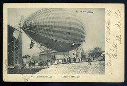Cpa L' Appareillage -- Ultimos Preparos Le 12 Mai 1902 -- Dirigeable  GX49 - Dirigeables