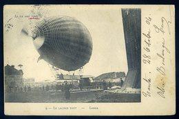 Cpa  Le Lacher Tout - Larga --  Le 12 Mai 1902 -- Dirigeable  GX49 - Dirigeables