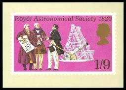 GB 1984 POSTAL MUSEUM POSTCARD NAVIGATION & ASTRONOMY HERSCHEL TELESCOPE MNH - United Kingdom