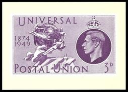 GB 1984 POSTAL MUSEUM POSTCARD UPU POSTCARD MNH - United Kingdom