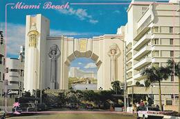 MIAMI BEACH - Painting Located On South Wall Of Fontainebleau Hilton Hotel - Miami Beach