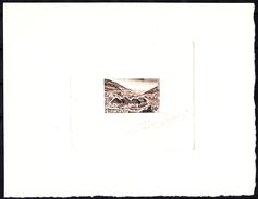 MADAGASCAR - N° 365 - Parc National De Ranomafana - Epeuve D'artiste En Vert Signée Bétemps - Luxe. - Holidays & Tourism