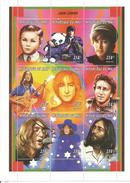 1997 Mali  John Lennon Beatles Music  Miniature Sheet Of 9 MNH - Mali (1959-...)