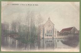 CPA Dos Simple - ESSONNE - CROSNES - L'YERRE AU MOULIN DE SENLIS - M. Mulard éditeur Yerres / 123 - Crosnes (Crosne)