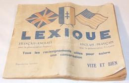 Lexique Français-Anglais GB/US WW2 Libération USA Américain Anglais - 1939-45