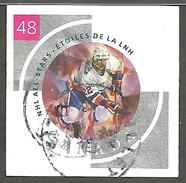 Sc. # 1972e  NHL All Stars #4, Mike Bossy Single Used 2003 K1164 - 1952-.... Règne D'Elizabeth II