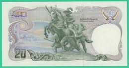 20 Bahts - Thaïlande - 1981 - N° 2F1691678 - Neuf - - Thailand