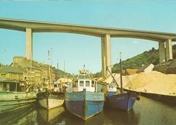 Saint Brieuc-le Pont Du Légué-chalutiers--cpm- - Saint-Brieuc