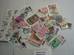 100 Timbres Tous Pays   VRAC - Alla Rinfusa (max 999 Francobolli)