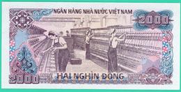 2000 Dông - Viêt-Nam - N° DW 6909353 - 1988 - Neuf - - Vietnam