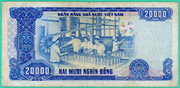 20000 Dông - Viêt-Nam - N° CC 0498374 - 1991 - TTB - - Vietnam