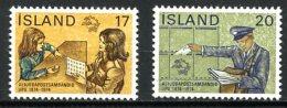 Island - Iceland   Y&T 451 - 453  --  UPU   Centenary Postal Union   1974   ---   MNH  --  Perfect Set. - U.P.U.