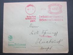 Firmen Freistempel , Meterstempel Auf Beleg Aus Braunschweig  1931 - Allemagne