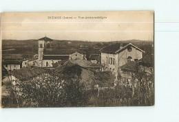 DIEMOZ - Vue Panoramique - 2 Scans - Diémoz