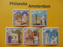 Vatican 2001, POPE JOHN PAUL II, PAPAL VISITS: Mi 1375-79, ** - Pausen