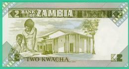 2 Kwacha - Zambie - N° 87/B 595181 - 1980 1988 - Neuf - - Zambie