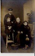 CARTE PHOTO SANNOIS LA FAMILLE LECLERQ  PHOTO DESIRE SANNOIS - Sannois