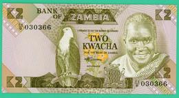 2 Kwacha - Zambie - N° 84/B 030366 - 1980 1988 - Neuf - - Zambia