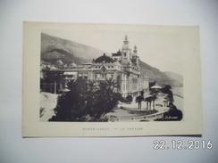 Monte-Carlo. Le Théatre. (15 - 2 - 1920) - Opera House & Theather