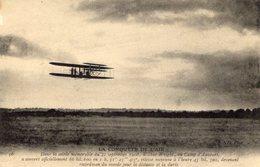 L'Aéroplane De Wilbur Wright - Au Camp D'Auvours  -  Septembre 1908  -  CPA - Flieger