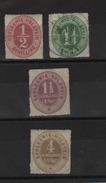 Allemagne - Schleswig-Holstein _ Non Dentelé N°3/5/+7 (1865 )