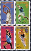 Albania Stamps 2000. The Olympic Games Sydney 2000. Sport, Football. Set MNH. Michel 2767-2770 - Albania