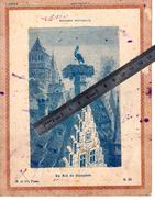 LA CIGOGNE ALSACE NID HISTOIRE NATURELLE OISEAUX ECHASSIERS Couverture Protège Cahier  / Coll. H. Et Cie PARIS N°23 - Animaux