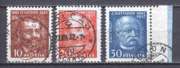 Switzerland 1932 Mi 259-261 Canceled (1) - Svizzera