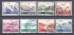 Switzerland 1941 Mi 387-394 Canceled (1)