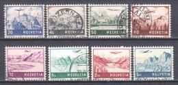 Switzerland 1941 Mi 387-394 Canceled (2)