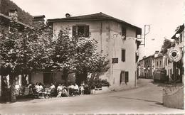 ARNEGUY - Hôtel- Café De La Frontière Et Grande Rue - EC 21 - Petite Dentelée, Non Circulée - Tbe - Arnéguy