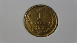 Soviet Union - 1988 - 1 Kopeke - Y126a - VF - Look Scan - Russland