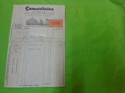 Facture De 1970 Samaritaine Maison Ernest Cognacq - Factures & Documents Commerciaux
