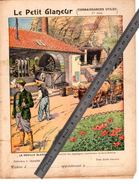 Couverture Protège Cahier LA HOUILLE BLANCHE FORCE MOTRICE / LE PETIT GLANEUR Connaissances Utiles / Coll. C. CHARIER - Protège-cahiers