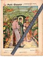 Couverture Protège Cahier LES FLEURS LA SERRE / LE PETIT GLANEUR Connaissances Utiles / Coll. C. CHARIER - Protège-cahiers