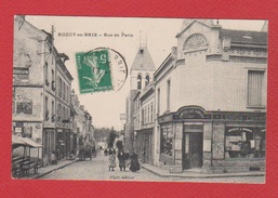 Rozoy En Brie -- Rue De Paris - Rozay En Brie