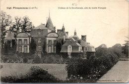 35 PLEUGUENEUC - Le Château De La Bourbansais Coté Jardin - France