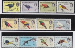 British  Honduras   .    SG   .    202/213   ( 212/213: ** )     .   *   .     Ongebruikt   .   /   .  Mint-hinged - Brits-Honduras (...-1970)