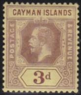 Cayman Islands  .    SG   .    45c      .   *   .     Ongebruikt   .   /   .  Mint-hinged - Kaaiman Eilanden