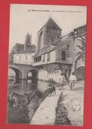 Moret Sur Loing  --  Ancienne Maison Et Porte Du Pont - Moret Sur Loing