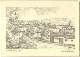 Saint Hilaire De Riez-vue- Dessin De Yves Ducourtioux-cpm - Saint Hilaire De Riez