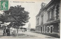 ANNEYRON - ( 26 ) - Place De La Mairie - France