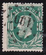 N° 30  JUMET  Lp. 199 - COBA +3 - 1869-1883 Léopold II